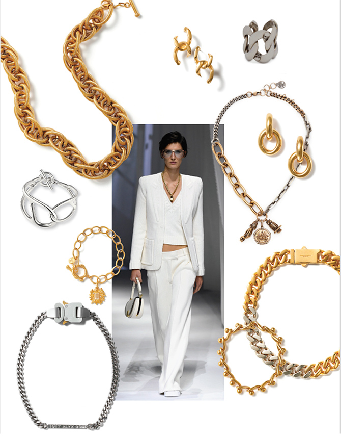 Magazine : CHAIN ACCENTS